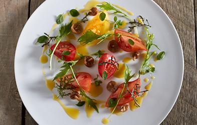 tomato-mushroom-salade